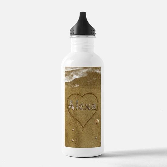 Alexa Beach Love Water Bottle