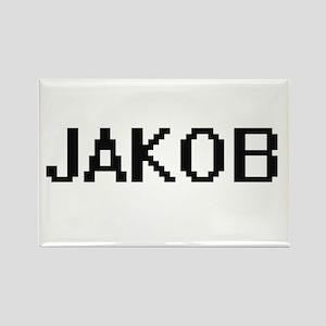 Jakob Digital Name Design Magnets