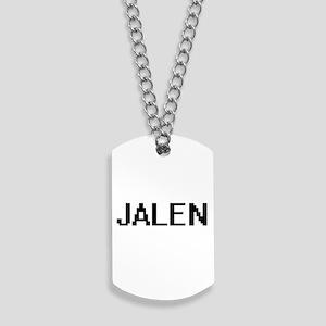 Jalen Digital Name Design Dog Tags