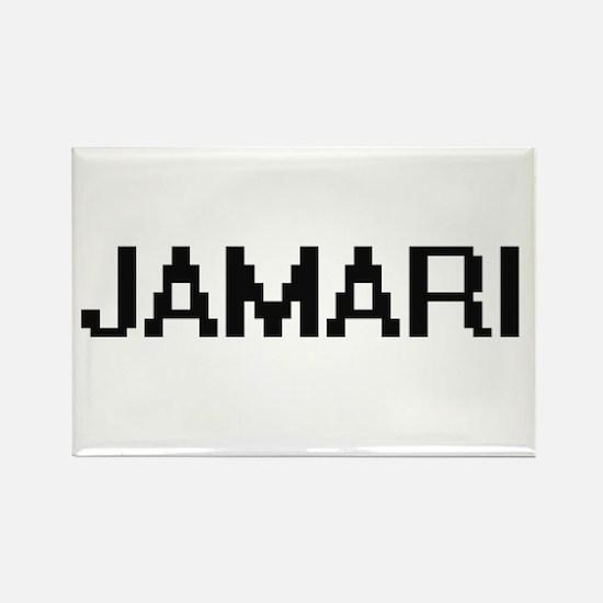 Jamari Digital Name Design Magnets