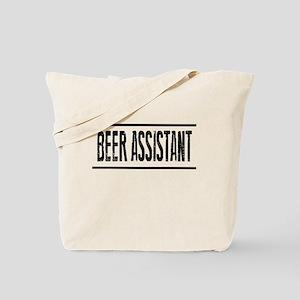 BEER ASSISTANT (reverse) Tote Bag