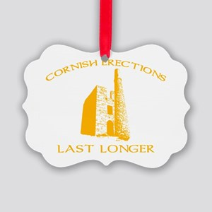 Cornish Last Longer Picture Ornament