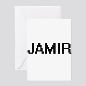 Jamir Digital Name Design Greeting Cards