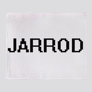 Jarrod Digital Name Design Throw Blanket