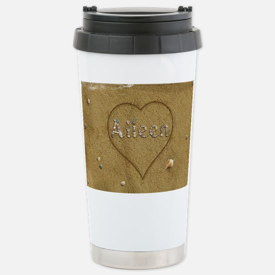 Aileen Beach Love Stainless Steel Travel Mug
