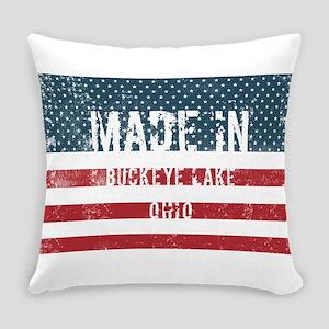 Made in Buckeye Lake, Ohio Everyday Pillow