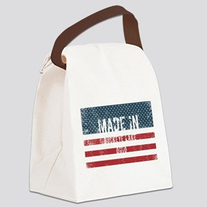 Made in Buckeye Lake, Ohio Canvas Lunch Bag