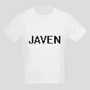 Javen Digital Name Design T-Shirt