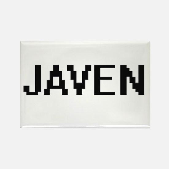 Javen Digital Name Design Magnets