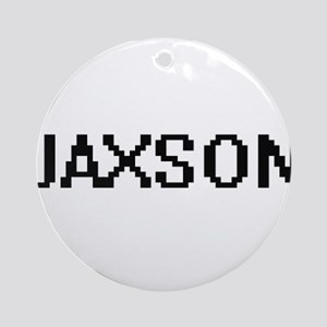 Jaxson Digital Name Design Ornament (Round)