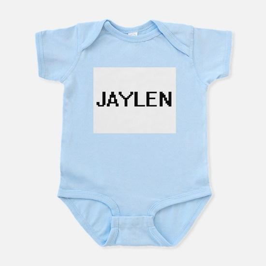 Jaylen Digital Name Design Body Suit