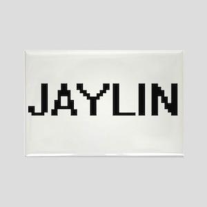 Jaylin Digital Name Design Magnets