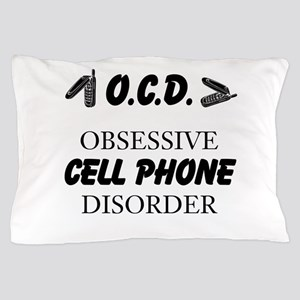 Cell Phone Disorder Pillow Case