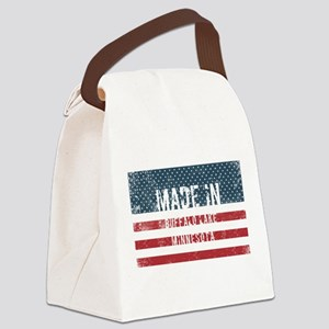 Made in Buffalo Lake, Minnesota Canvas Lunch Bag