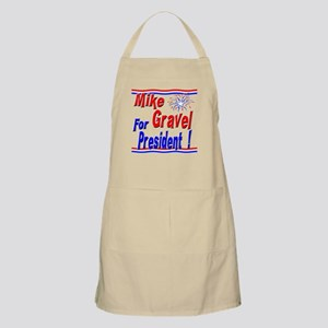 Gravel for President BBQ Apron