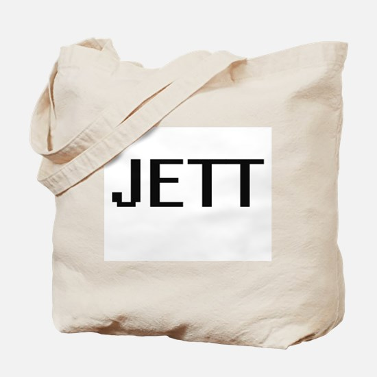 Jett Digital Name Design Tote Bag