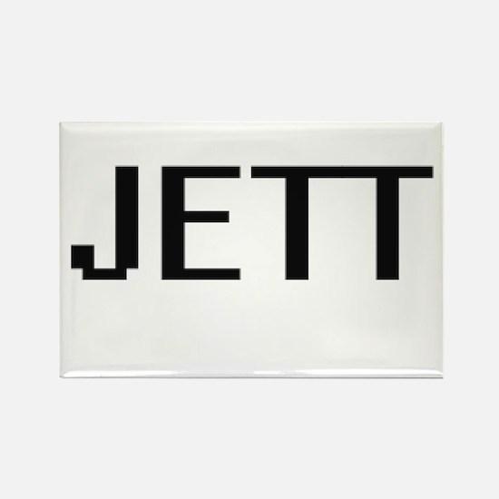 Jett Digital Name Design Magnets