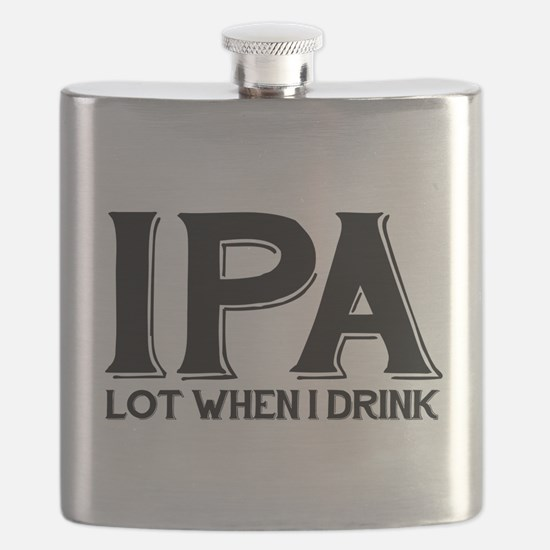 IPA Lot When I Drink Flask