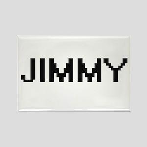 Jimmy Digital Name Design Magnets