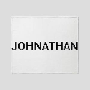 Johnathan Digital Name Design Throw Blanket