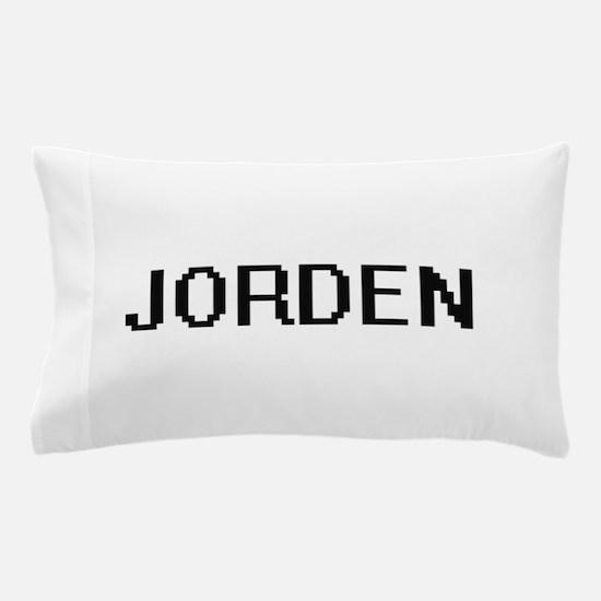 Jorden Digital Name Design Pillow Case