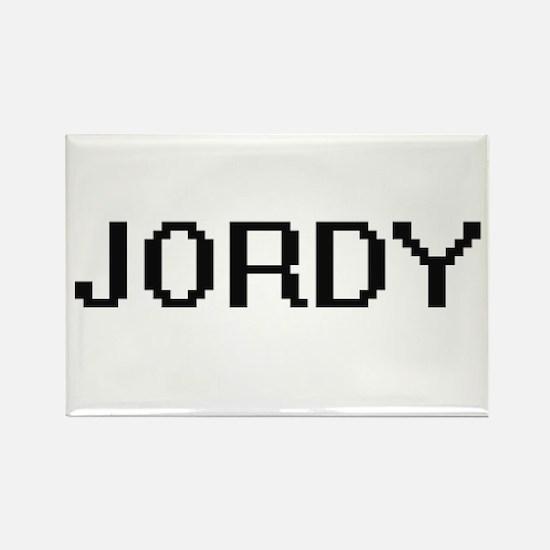 Jordy Digital Name Design Magnets