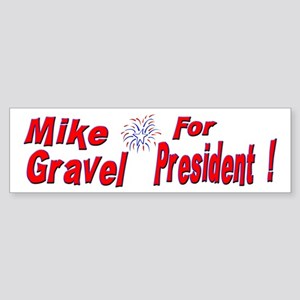 Mike Gravel Bumper Sticker