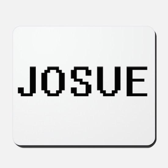 Josue Digital Name Design Mousepad