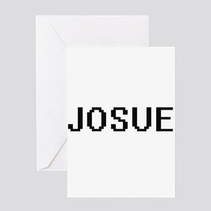Josue Digital Name Design Greeting Cards