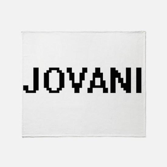 Jovani Digital Name Design Throw Blanket