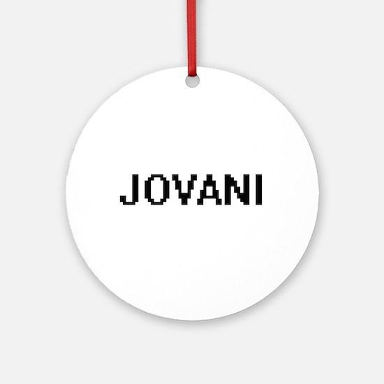 Jovani Digital Name Design Ornament (Round)