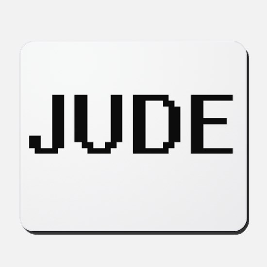 Jude Digital Name Design Mousepad