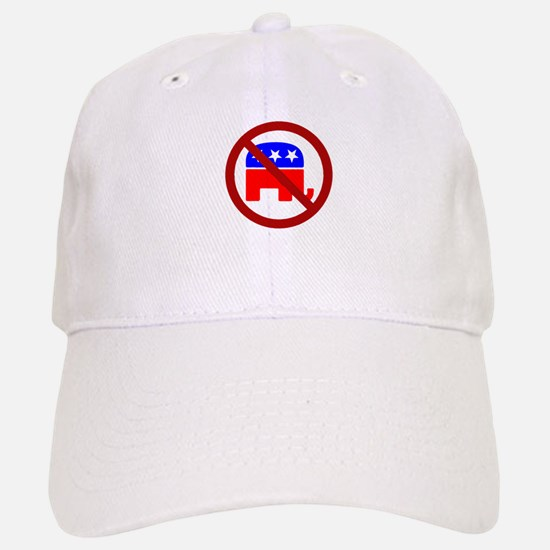 Anti-Elephant Baseball Baseball Cap