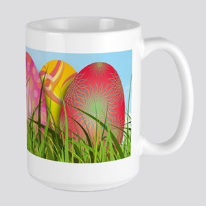 Happy Easter Decorated Eggs Mugs