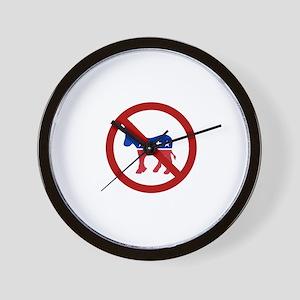 Anti-Donkey Wall Clock