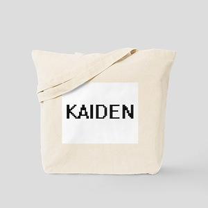 Kaiden Digital Name Design Tote Bag