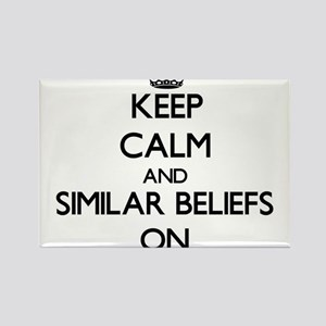Keep Calm and Similar Beliefs ON Magnets
