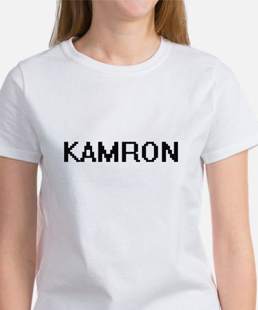 Kamron Digital Name Design T-Shirt