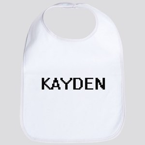Kayden Digital Name Design Bib