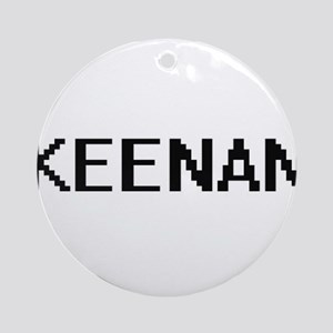 Keenan Digital Name Design Ornament (Round)