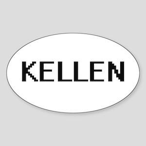 Kellen Digital Name Design Sticker