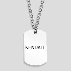 Kendall Digital Name Design Dog Tags