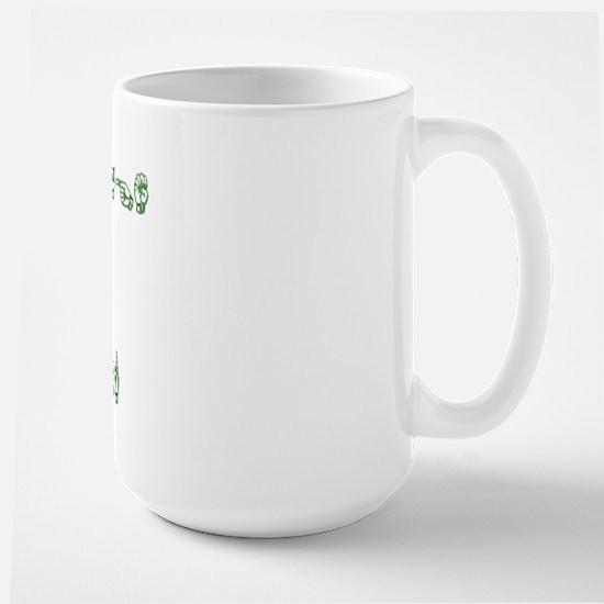 Sign Language Interpreter Large Mug