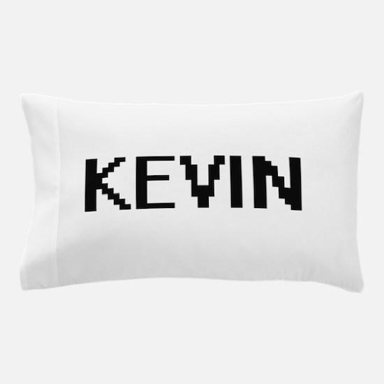 Kevin Digital Name Design Pillow Case