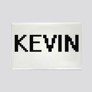 Kevin Digital Name Design Magnets