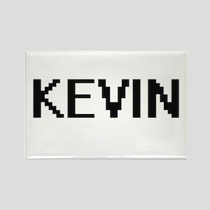 Kevin Digital Name Design Magnets