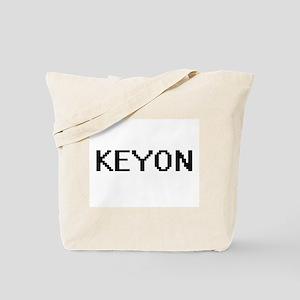 Keyon Digital Name Design Tote Bag