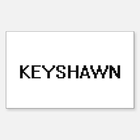 Keyshawn Digital Name Design Decal