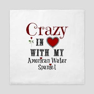 American Water Spaniel Queen Duvet
