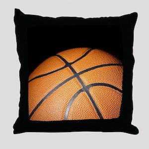 Basketball Ball Throw Pillow